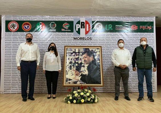 El candidato del PRI a la presidencia municipal de Cuernavaca, Cipriano Sotelo, recordó el compromiso de Colosio Murrieta por trabajar fuertemente a favor de la ciudadanía