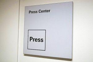 Pressecenter (Foto: Markus Burgdorf)