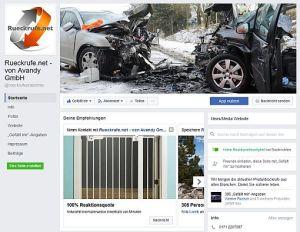 facebook-Seite Rückrufverzeichnis