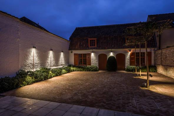 iluminacion de exteriores terrazas y jardinas  Avanluce