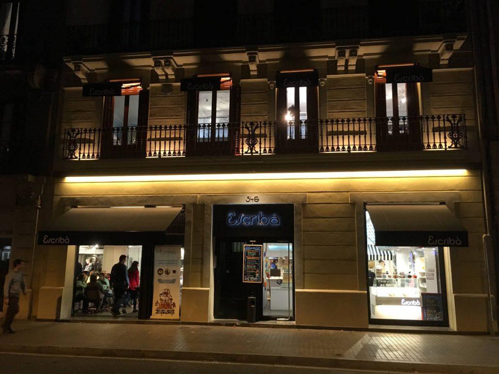 iluminacion fachadas barcelona  Avanluce