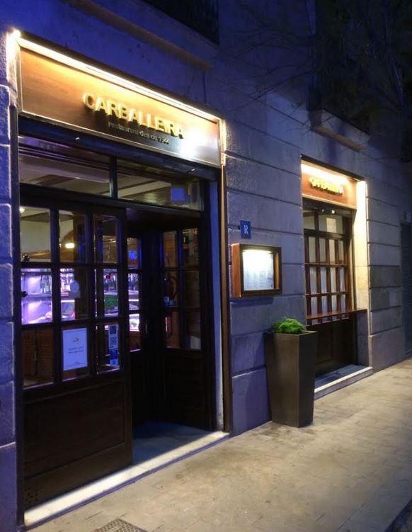iluminacion fachada entrada restaurante  Avanluce