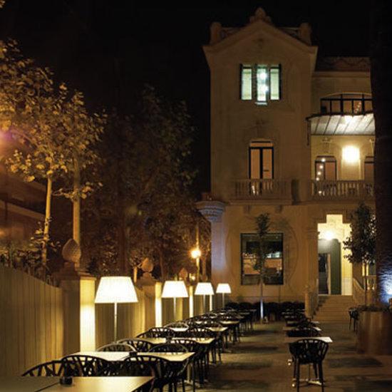 iluminar la terraza de un restaurante  Avanluce