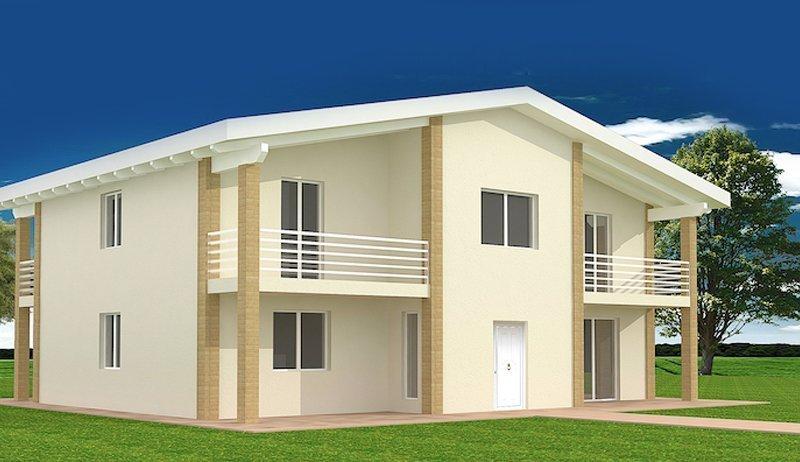 Gallery case prefabbricate in legno Progetti case prefabbricate