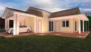 La qualità, il design e l'efficienza di una casa interamente in legno. Case Prefabbricate In Legno Prezzi E Progetti Case In Legno