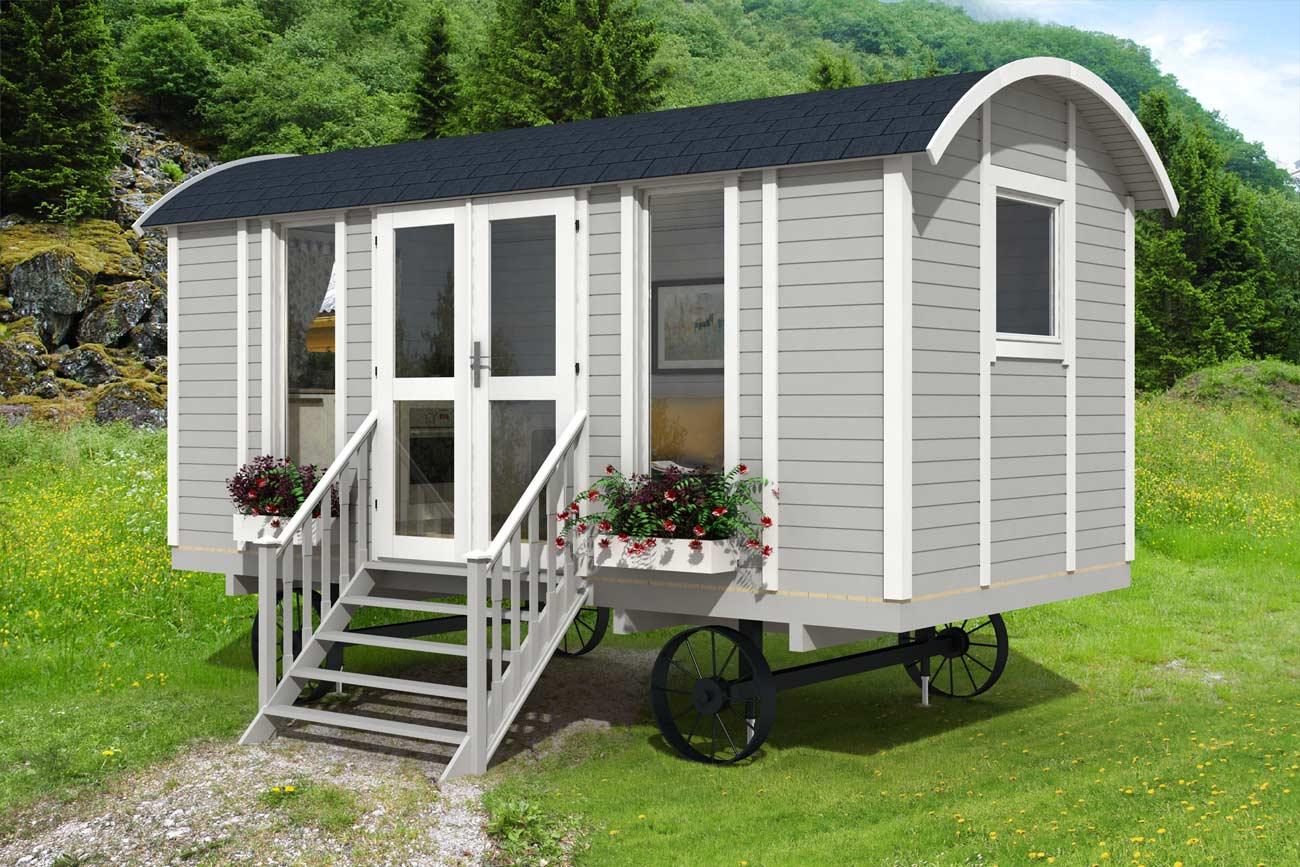 Come si vive in una casa mobile  Case prefabbricate