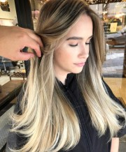 hair coloring services - highlights