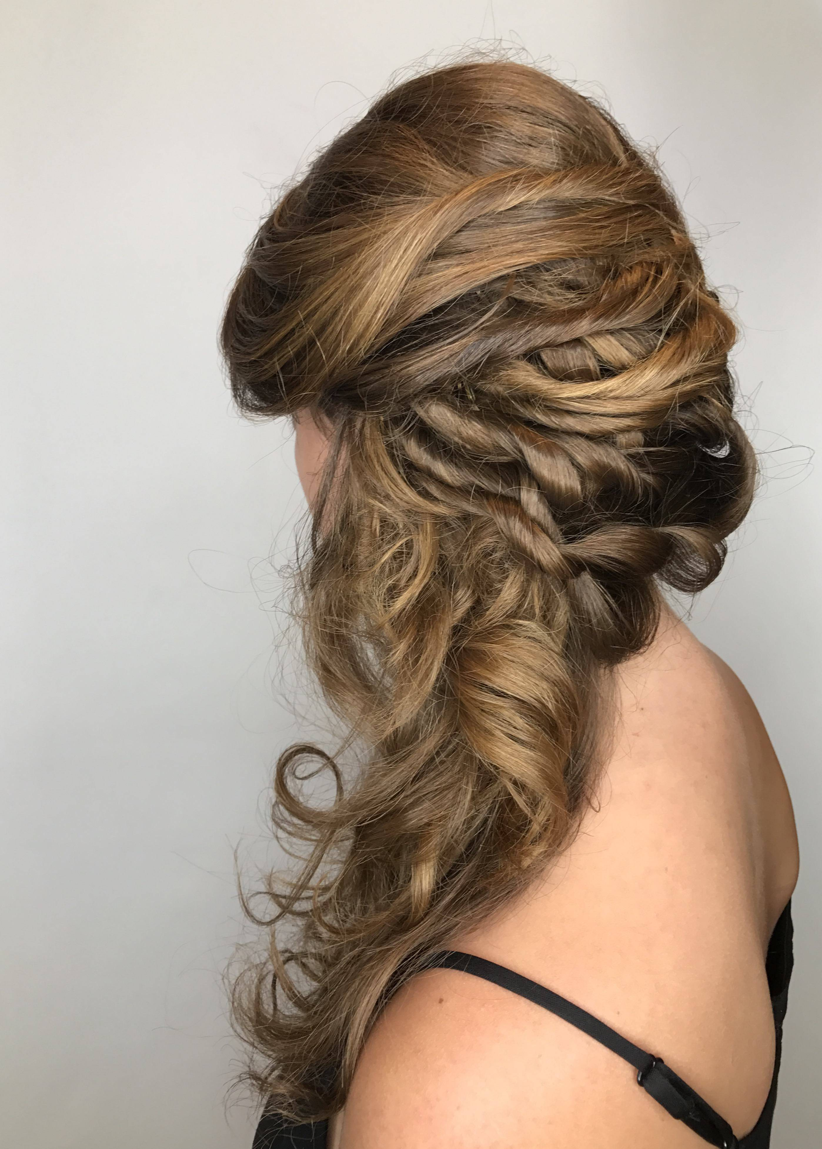 hair styling salon services