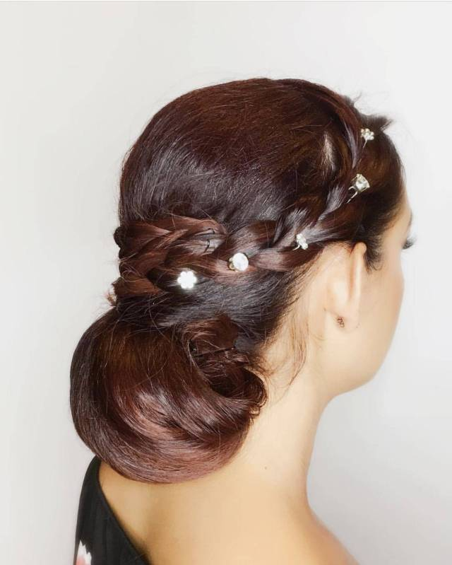 hair styling salon services - blow dry, up do - waves, curls
