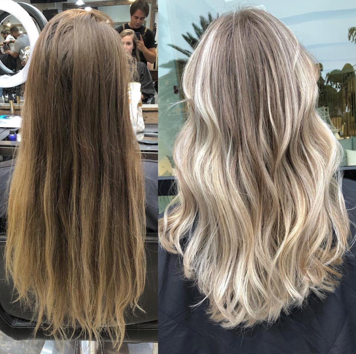 hair color salon gallery
