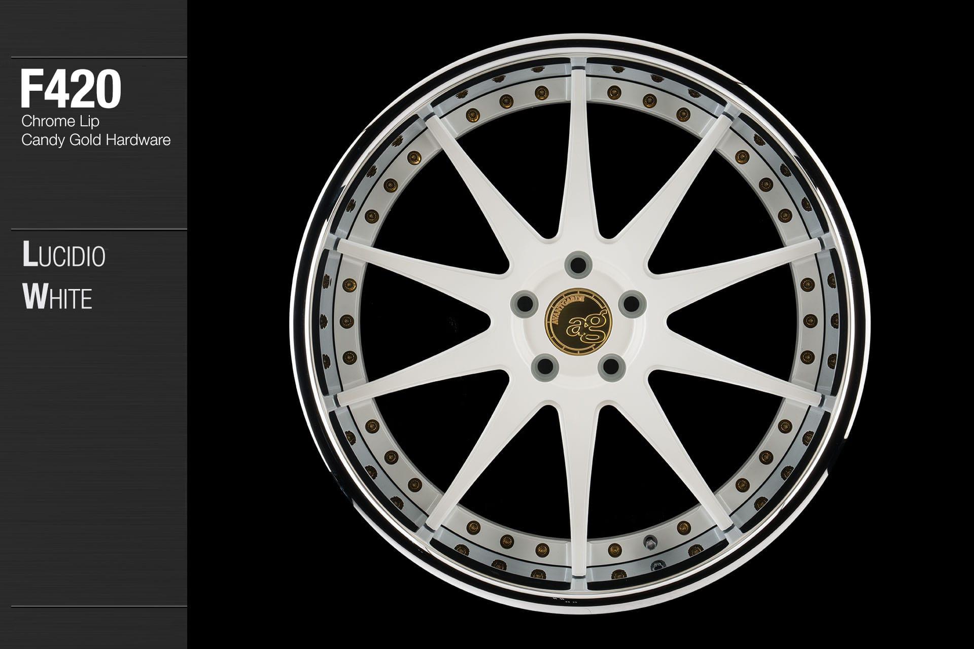 Avant Garde Wheels  AG F420 Custom Finishes Gallery