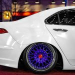 Acura Tsx Avant Garde Wheels F241 Polished Electron Blue Avant Garde Wheels