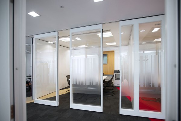 Movable Glass Partition Walls