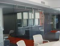 Rail Sliding Barn Glass Doors