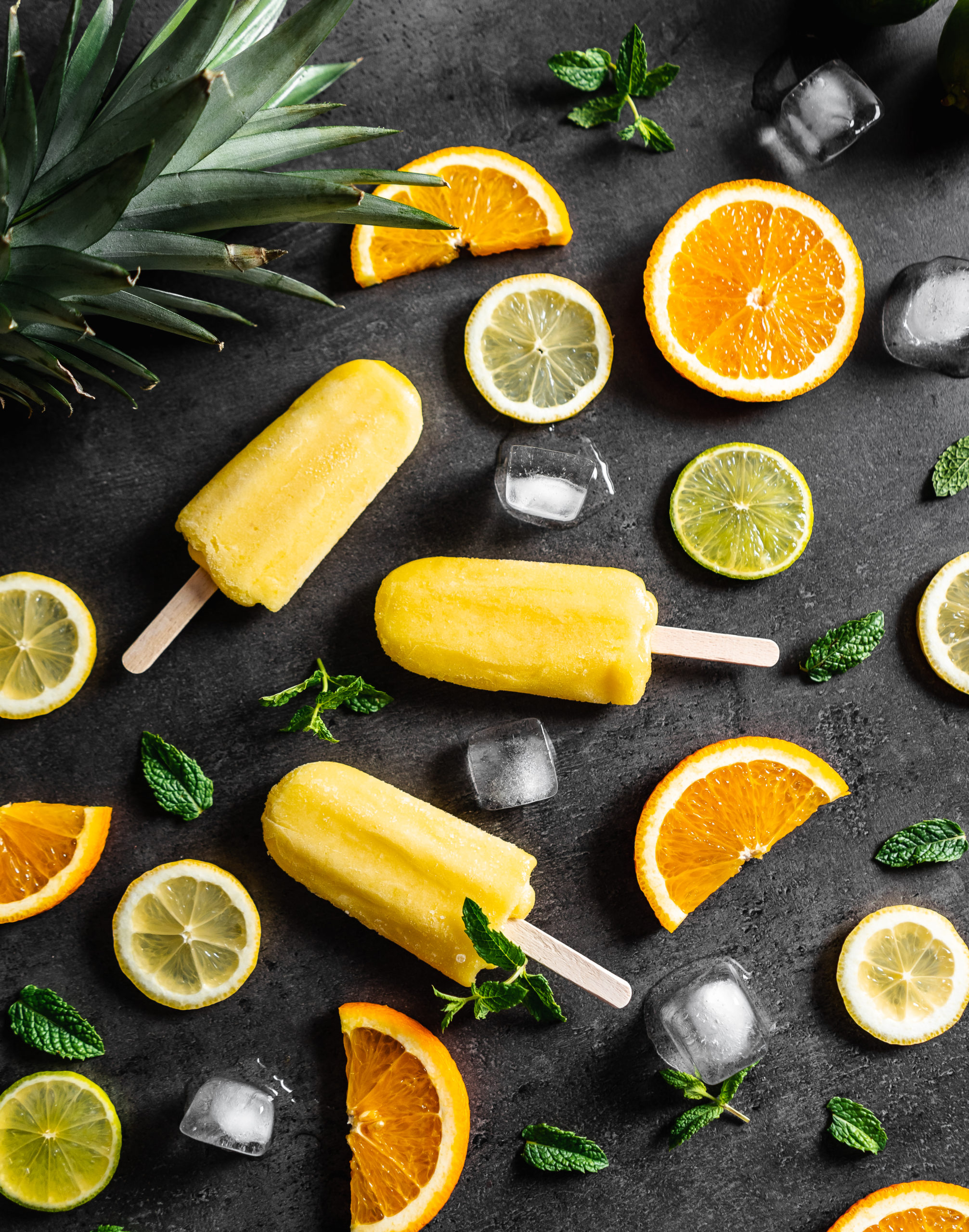 Summer Ice Lollies With Fresh Fruits Picjumbo Com
