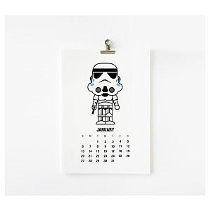 Moule à cookie Star Wars : Dark Vador, Stromtrooper, Boba