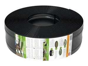 AMISPOL® bordure de gazon en plastique – 125/4 mm, longueur 25 m
