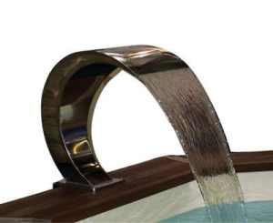 Cascade piscine Mini Bali largeur 50 cm Fixation sans ancrage
