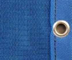 Serviette réseau pour toiture et avec œillet et coussin avec bordure, lourd 100m²