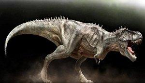 Tyranosaurus Rex XXL lebensgroß 560cm pour extérieur en fibre de verre haute qualité plastique (GFK)