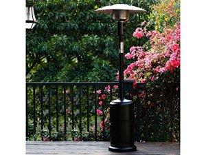 Habitat et Jardin – Parasol chauffant Relax 1 – 11.7 kW – Noir
