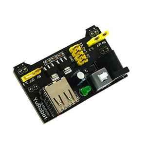 uniquegoods Mini Breadboard puissance DIY Module 3,3V / 5V Pour Arduino Breadboard Solderless