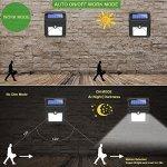 baxia lumi re solaire exterieur 400lm ampoule de s curit. Black Bedroom Furniture Sets. Home Design Ideas