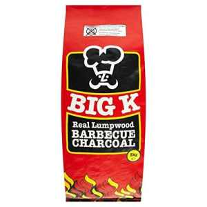 Big K réel Lumpwood Barbecue 5 kg de charbon de bois