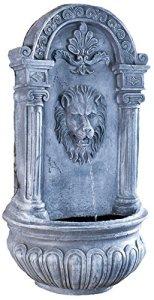 Blagdon Liberty 1054379 Abreuvoir en pierre et robinet Fontaine murale tête de lion
