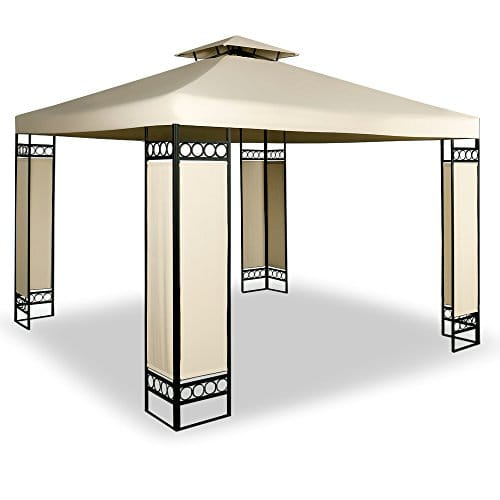Tonnelle barnum 3x3m Lorca - Tente de reception jardin ...