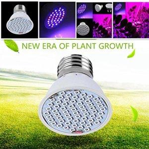 mitlfuny 3W 36LED Grow Ligh T Veg Fleur Plante intérieur Hydroponie Ampoule plein spectre, multicolore