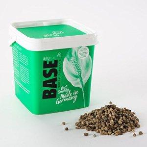 AIRY base – Substrat minéral naturel pour plantes à fleurs et plantes en pot vert – Convient pour le pot innovant AIRY