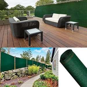 ProBache – Brise vue renforcé 2 x 10 m vert 220 gr/m² luxe pro