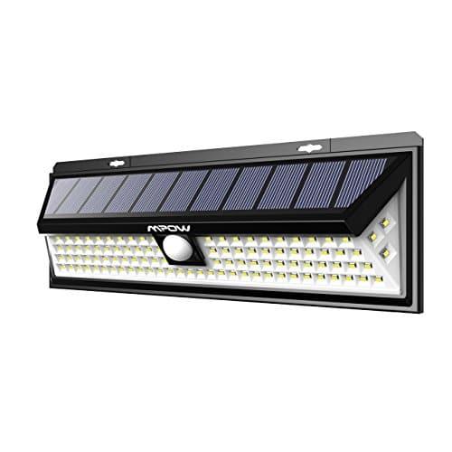 Ip65 800 Sans Mpow Lampe Extérieure Led Fil Étanche 54 Solaire m8w0Nn