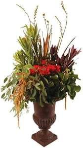 Esschert Design Vase français 23.5 x 23.5 x 30 cm marron