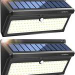 lampe solaire exterieur 100 led extra lumineuses lumiere. Black Bedroom Furniture Sets. Home Design Ideas