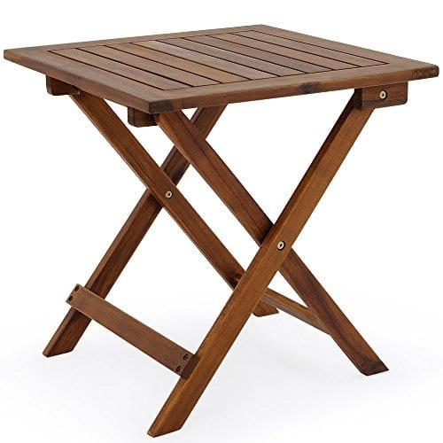 Olive Grove en teck massif pliante Table dappoint Tables ...