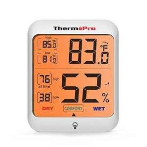 ThermoPro Thermomètre Hygromètre Intérieur numérique