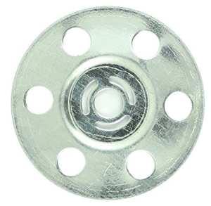 Timco mid35Disque isolante en métal–Argent (Boîte de 100)