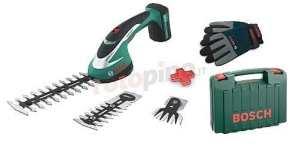 Bosch 600856305, Cisaille Batterie Li ASB 108Set avec les gants