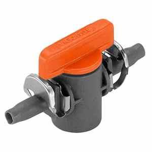 Gardena 835729 Robinet d'arrêt 4, 6 mm, Orange