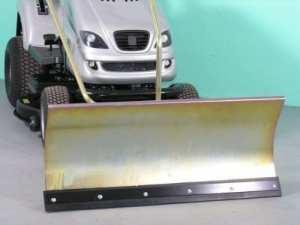 Husqvarna lT100 galvanisé confort de la lame chasse-neige 118 x 50 cm pour rasentraktore iD – 2234