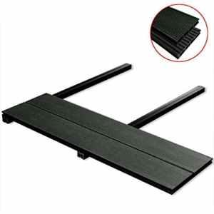 vidaXL Panneaux de terrasse WPC avec accessoires 40 m² 4 m Anthracite