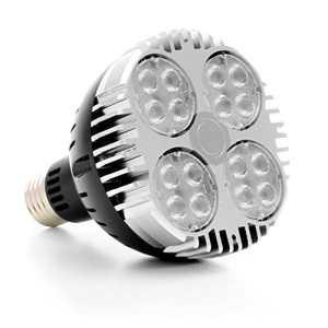 Ampoule horticole LED – 30W – SpectraBULB X30 LEDs OSRAM – Croissance et floraison – E27 – Simple à utiliser, ultra performante sur 40cm x 40cm