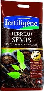 Fertiligene Terreau Semis Bouturage et Repiquage 6L