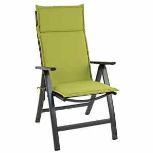 Sun Garden 10187983 Coussin pour Fauteuil Haut Revêtement/Polyester 121 x 47 x 4 cm