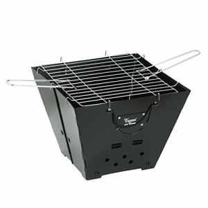 Tussi on Tour–pliable et de barbecue charbon portable en noir
