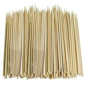 Lot de 200 brochettes de bambou de 30cm par Cosmall pour barbecue, kebab, fruits, fontaine au chocolat