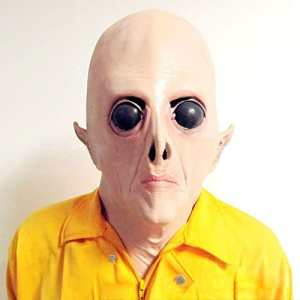 Tocoss (TM) Masque Alien, Big Eyes Horrible Party terrestre Horreur caoutchouc latex Masques complets pour Costume Party cosplay