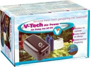 VT, aérateur complet pour bassin d'agrément, Air Pump Set AP-30, 145051
